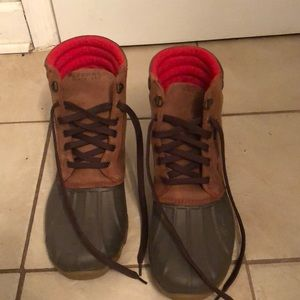 Men's Sperry Topsider Boots. Size 11.5